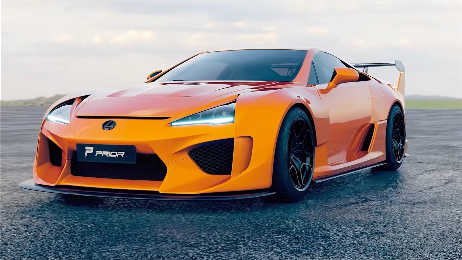 Prior Design Lexus LFA