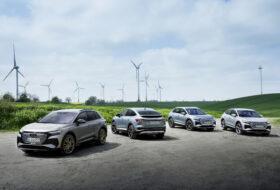 audi e-tron, audi q4, elektromobilitás, karbon-semleges, széndioxid-semleges, új audi