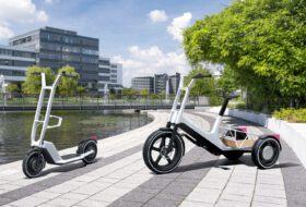 bmw, concept clever commute, concept dynamic cargo, elektromos, kerékpár, közösségi, mikromobilitás, roller