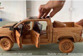 autós videó, modellautó, pickup, ram trx, új dodge