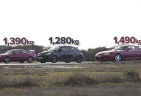 autós videó, carwow, celica gt-four, gyorsulás, gyorsulási verseny, toyota gr yaris, toyota supra, új toyota