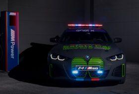 bmw i4, bmw i8, elektromos, felvezető autó, i4 m50, motogp, safety car
