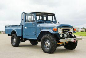 aukció, fj45, j40, land cruiser, pickup, restomod, toyota