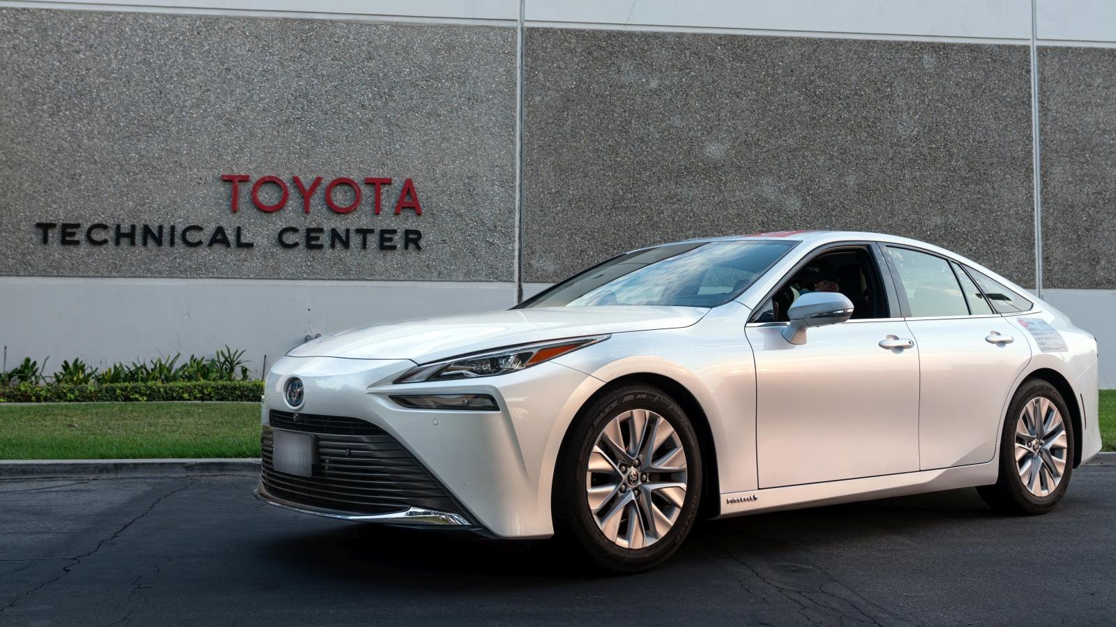 Toyota Mirai világrekord